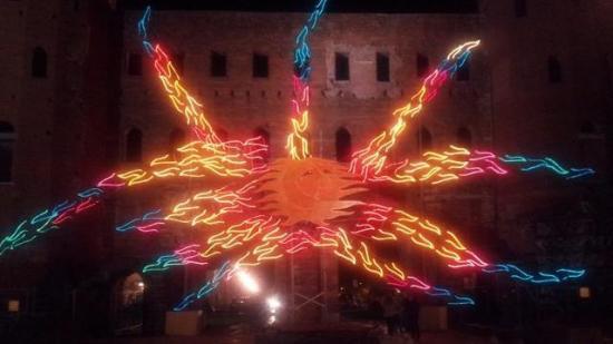 Vento solare di Luigi Nervo in via Accademia Albertina