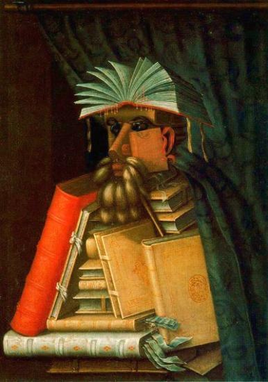 Arcimboldo - Il bibliotecario