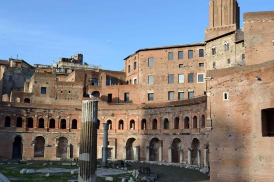 Il mercato di Traiano - Roma antica
