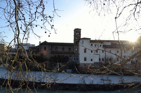 L'isola tiberina - Roma
