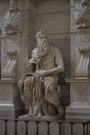 Il Mosè di Michelangelo a San Pietro in Vincoli - Roma