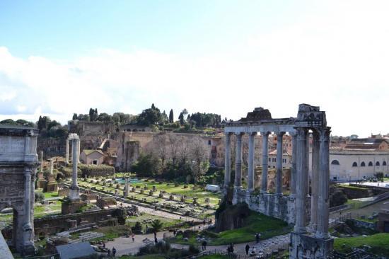 Il foro romano - Roma antica
