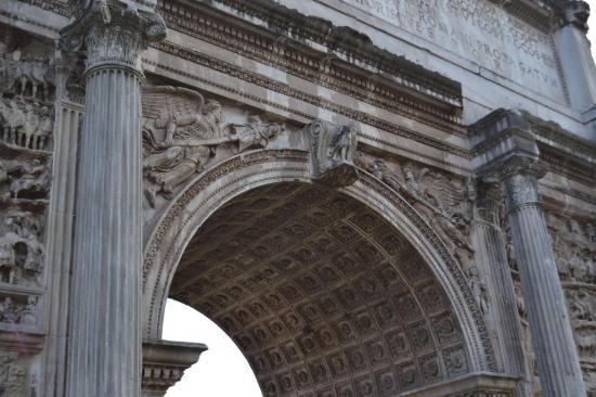 L'arco di Settimio Severo - Foro romano