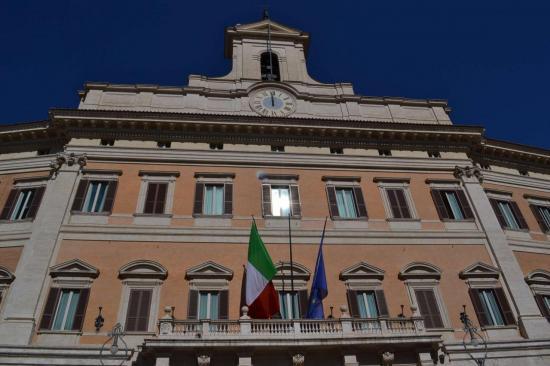 Il municipio di Roma in piazza del Campiglio (Michelangelo)