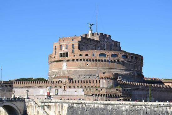 Il castel Sant'Angelo - Roma
