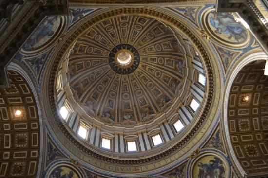 La cupola - Basilica di San Pietro - Vaticano - Roma