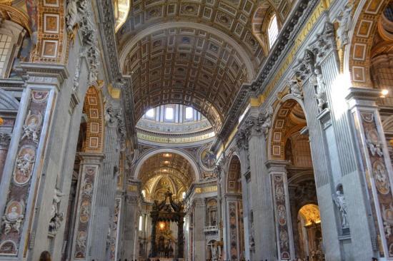 La basilica di San Pietro - Vaticano - Roma