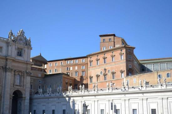 Dalla piazza San Pietro - Vaticano - Roma