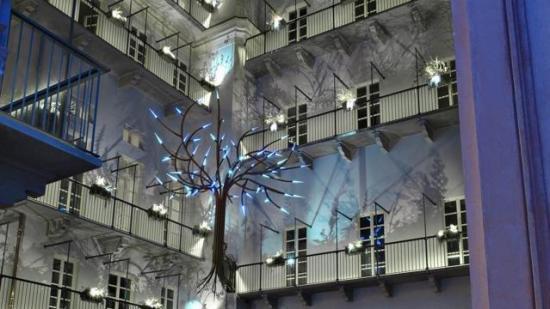 Il giardino verticale di Riki Ferrero-Palazzo Valperga-Via Alfieri 6