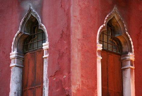 Finestre bizantine di un palazzo veneziano
