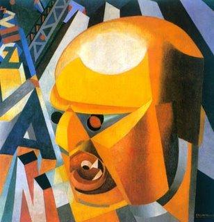 Dipinto futurista di Marinetti