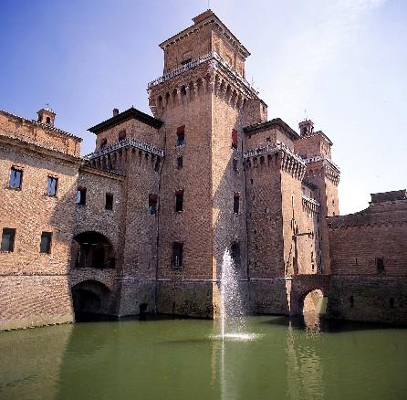 Il castello d'Este a Ferrara