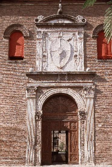 Portone del Palazzo Schifanoia a Ferrara
