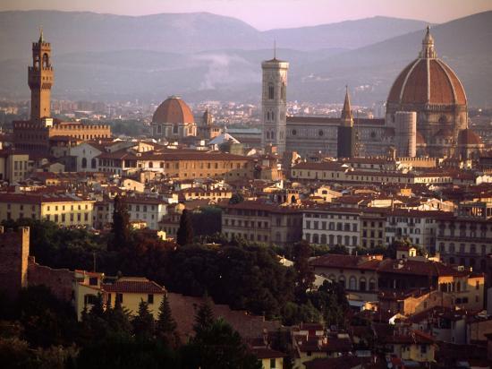Panorama su Firenze