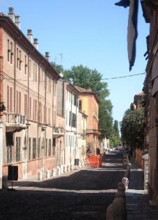 Via Ercole 1° d'Este a Ferrara