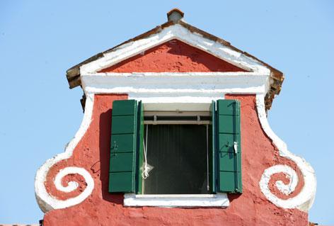 Casa rosa a Burano