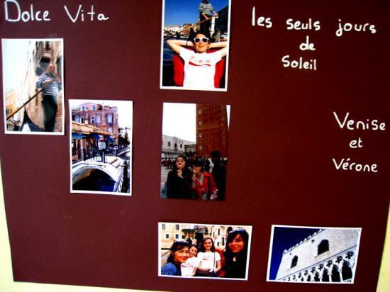 Mostra fotografica - Gita scolastica Venezia '08
