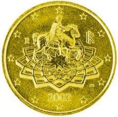 Moneta da 0,50 euro - Marco Aurelio