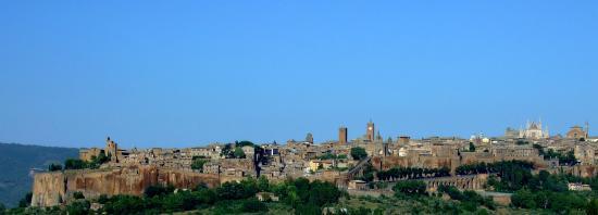 Panorama della citta' di Orvieto
