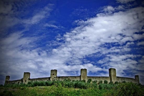Monteriggioni: borgo medievale vicino a Siena