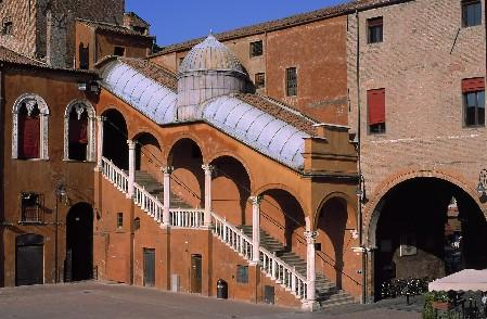 Cortile del Palazzo Comunale di Ferrara