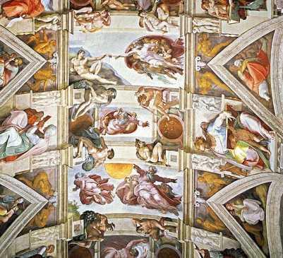 Genesi - Cappella Sistina di Michelangelo