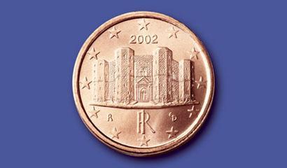 Moneta da 0,01 euro - Castel del Monte
