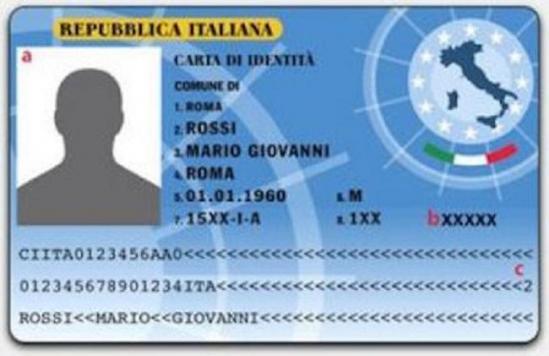 Carta identita elettronica 1